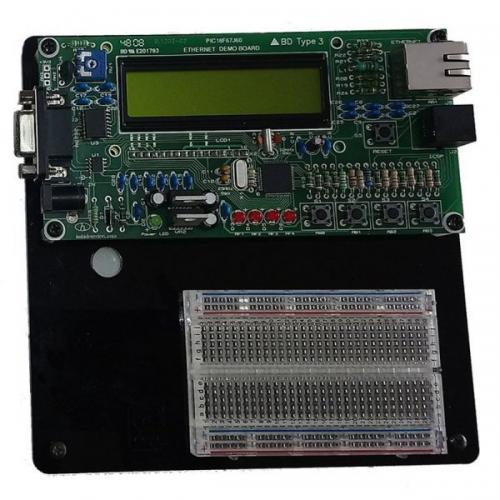 Ethernet Deneme Kartı (PIC18F67J60)