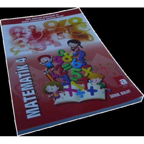 Özel Okullar Bursluluk ve Kabul Sınavlarına Hazırlık Kitabı Matematik 4