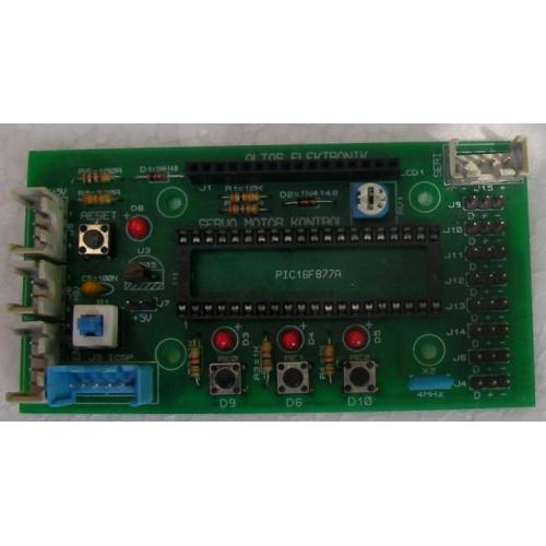 RC Servo Motor Kontrol Devresi