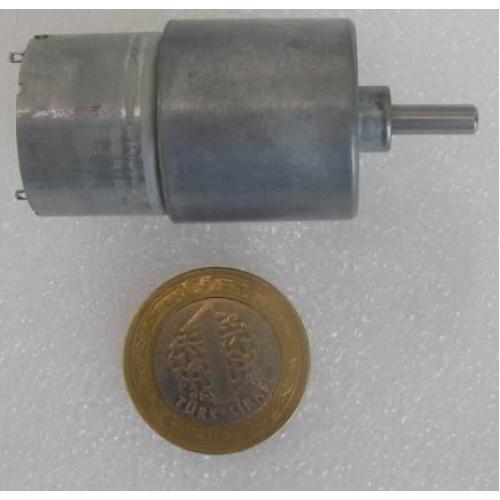 Redüktörlü DC MOTOR 150 RPM
