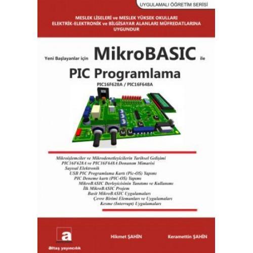 Yeni Başlayanlar için MikroBASIC ile PIC PROGRAMLAMA (16F628A)